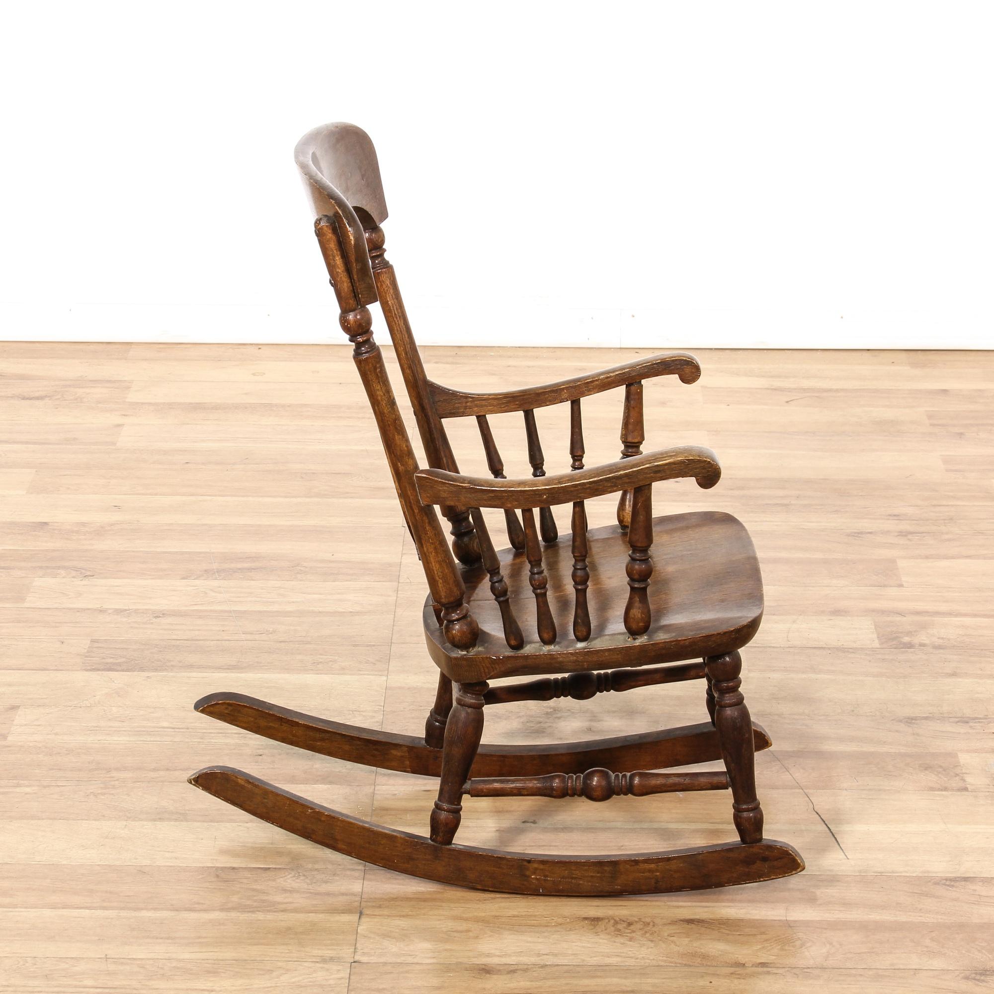 Antique Childs Rocking Chair  Loveseat Vintage Furniture San Diego ...