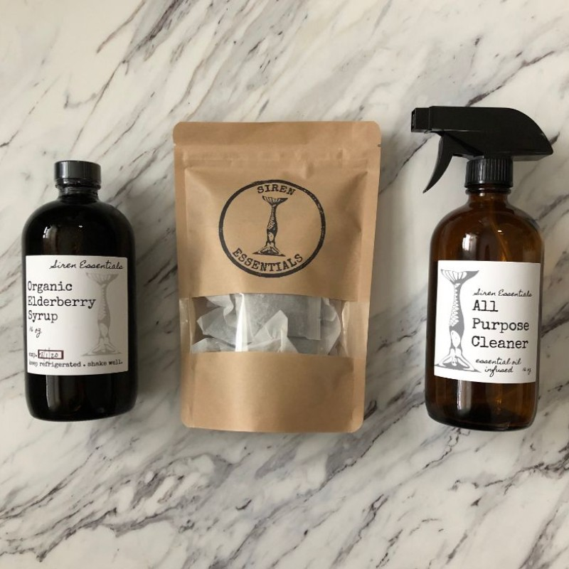 Siren Essentials - Elderberry Syrup, Teas and Wellness Products