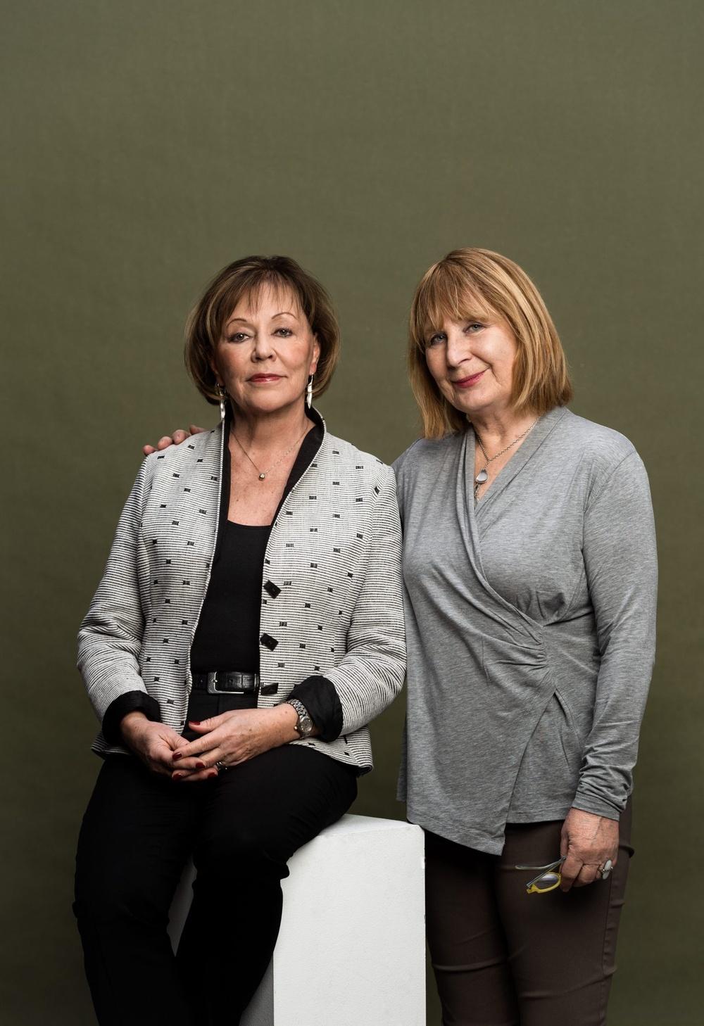 Författarporträtt: Marie Norberg och Kerstin Öhrn Ljung  Foto: Sören Vilks