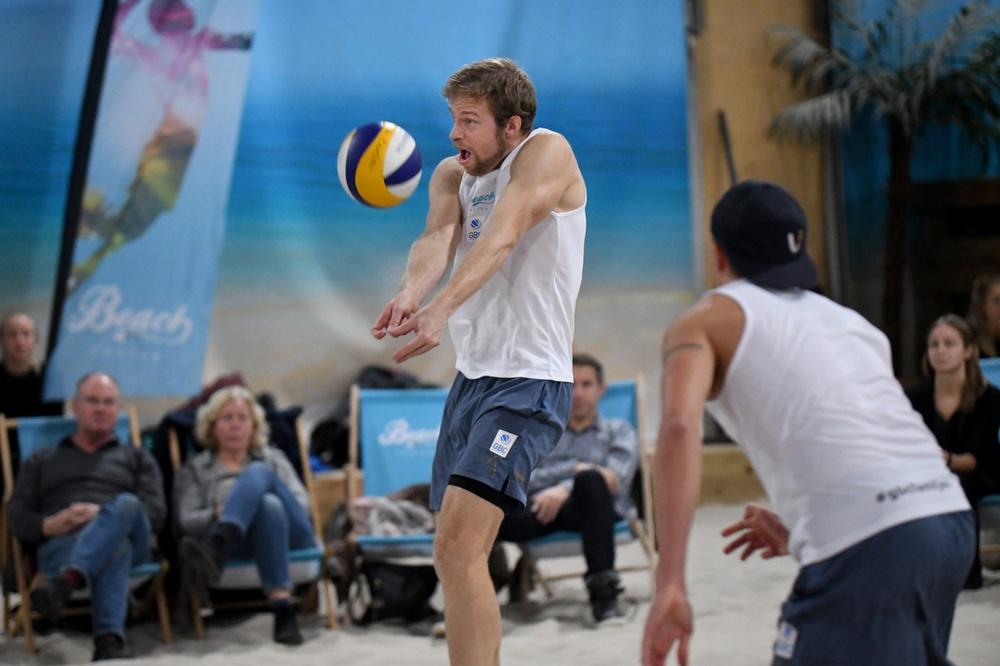 Tobias Helbig i aktion. Foto: Johanna Svensson