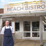 Trevor Hambley at the beach bistro