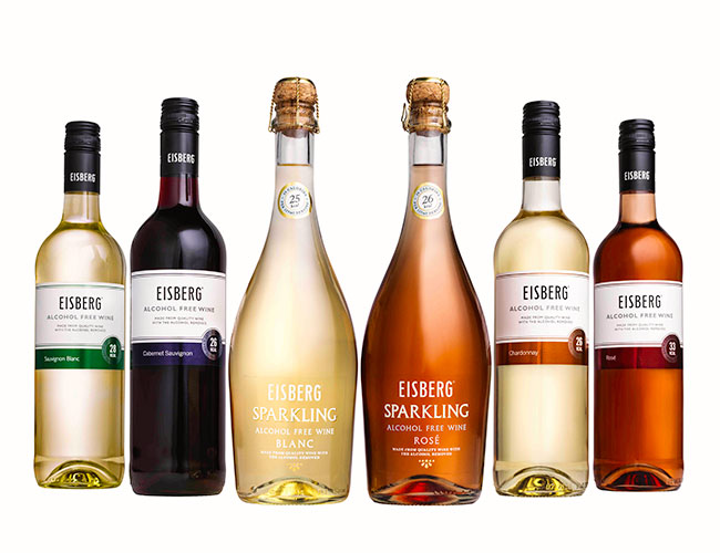 Eisberg alcohol-free wine range