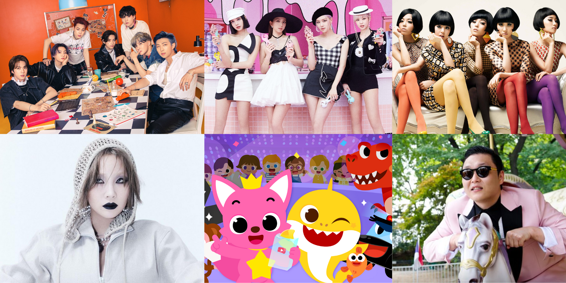 11 Asian acts who broke into the Billboard Hot 100: BTS, CL, PSY, Wonder Girls, BLACKPINK, Pinkfong, and more