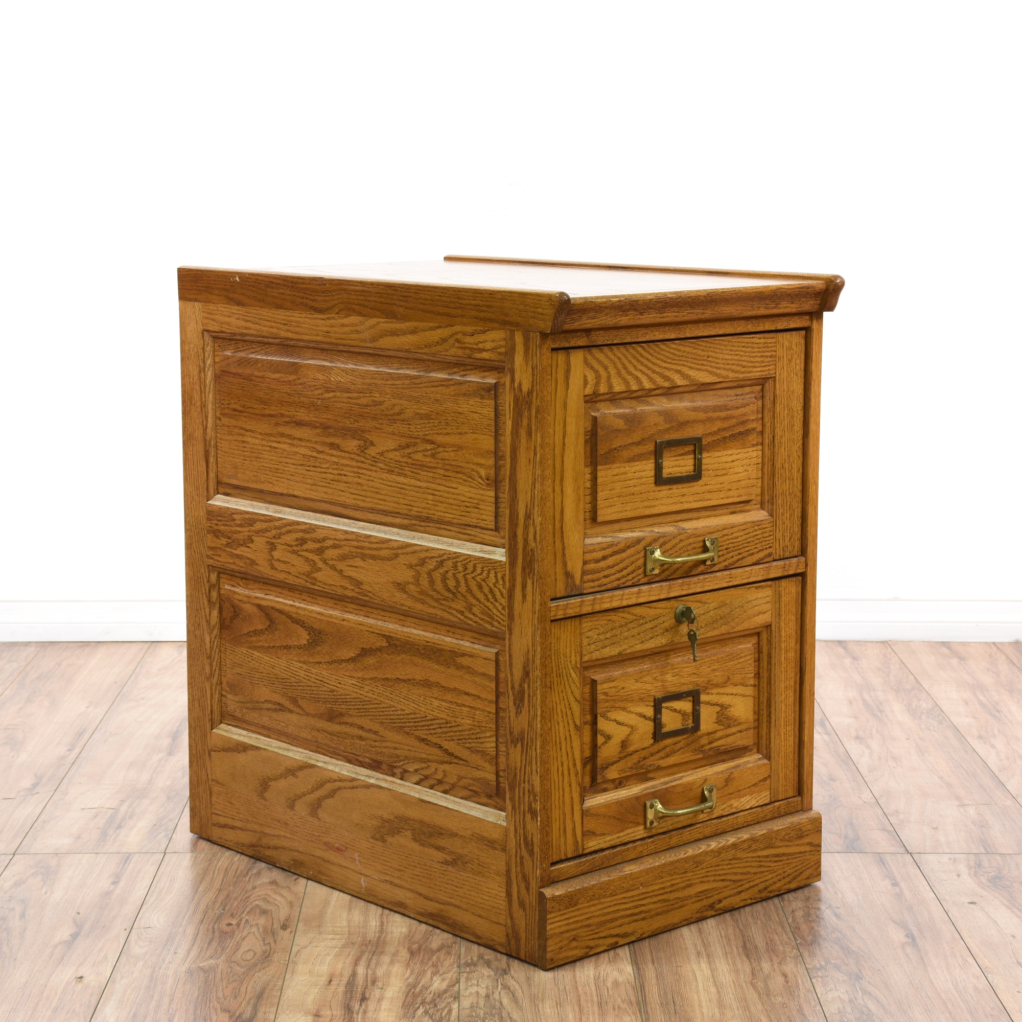 oak file cabinet 2 drawer solid oak 2 drawer filing cabinet loveseat vintage 23845