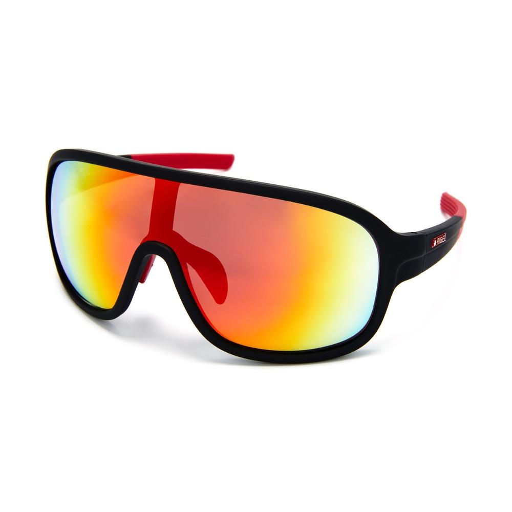 Dessa populära glasögon från Rigel är kraftigt välvda, vilket gör att de skyddar dina ögon från vinden.