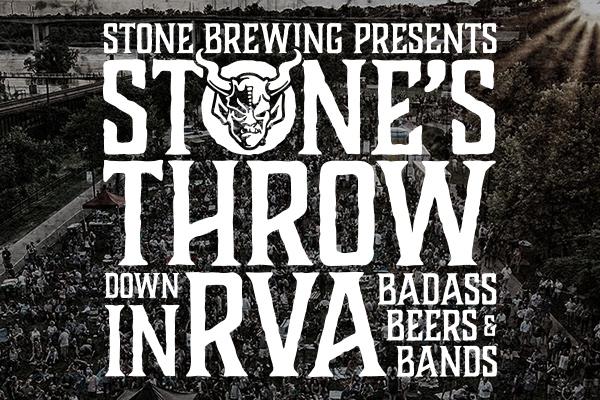 Stone's Throwdown in RVA - Saturday September 8, 2018