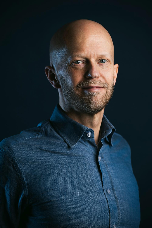 Författarporträtt: Joakim Ahlström  Foto: Sören Vilks