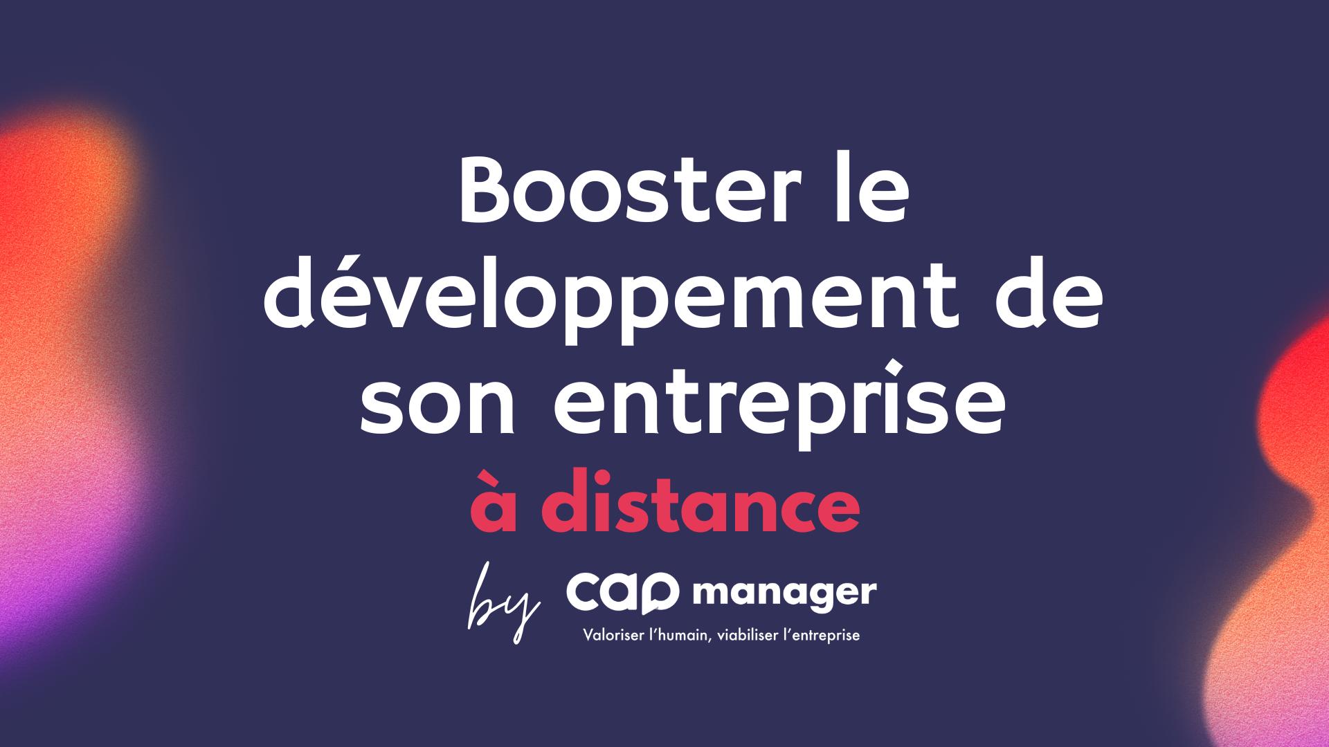Représentation de la formation : Programme Booster