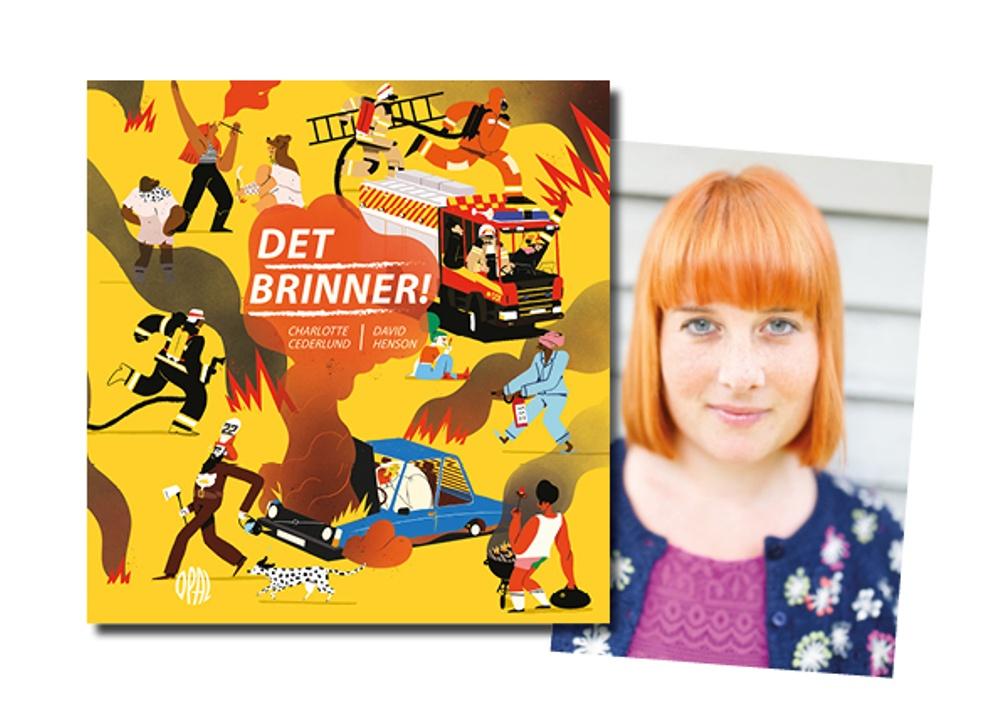 Omslag: David Henson, Porträtt: Niklas Herrström