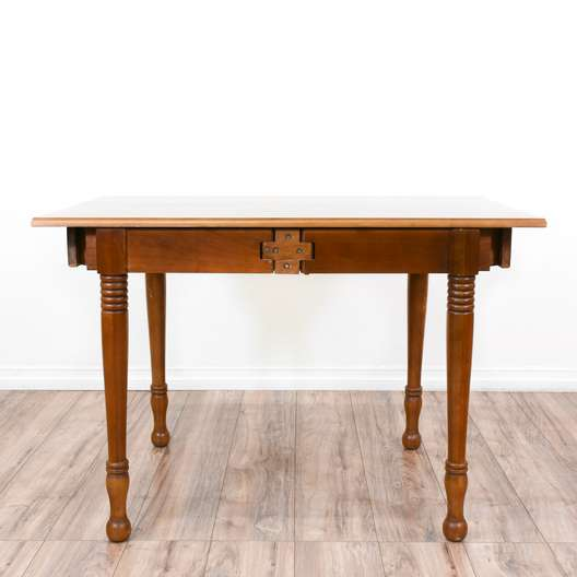 Traditional Carved Cherry Dining Table