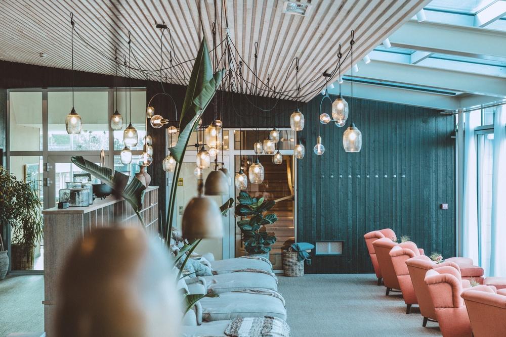 Spa lounge. Photo: Anders Karolyi