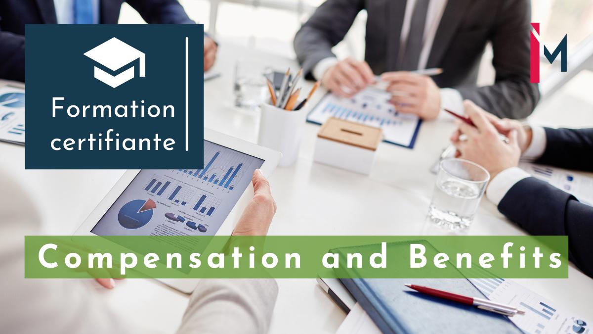 Représentation de la formation : Finance, comptabilité et engagements sociaux pour Comp & Ben formation certifiante