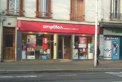 Photo du centre Amplifon de Clichy