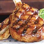 Mongolian Barbecued Veal Chop
