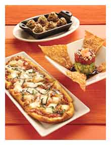 Cheesecake Factory's Snacks and Small Plates