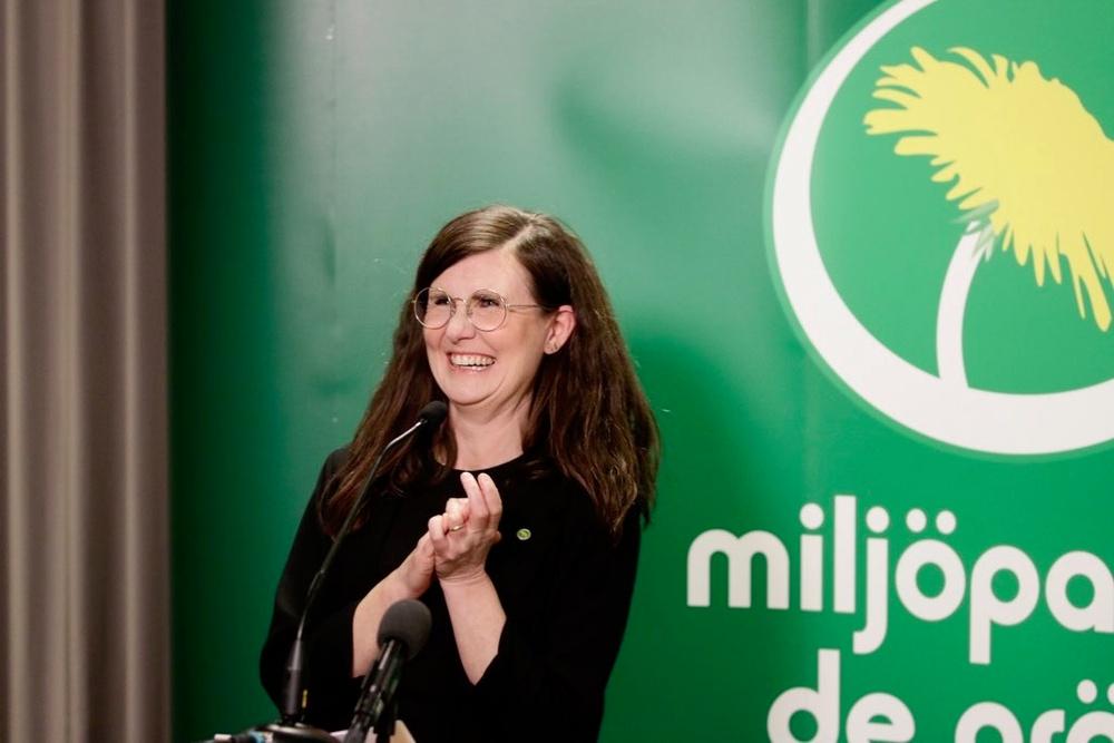 Märta Stenevi är Miljöpartiet nya språkrör.