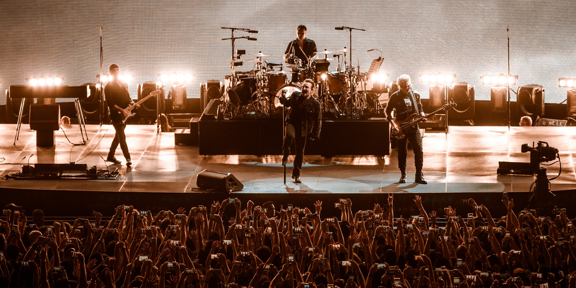 U2 made history at their first Philippine concert, honoring women of the world