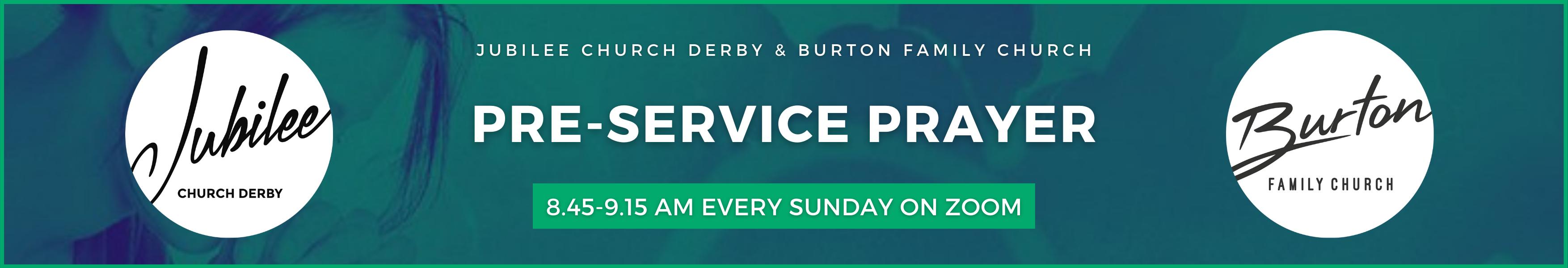 Pre-Service Prayer Meetings