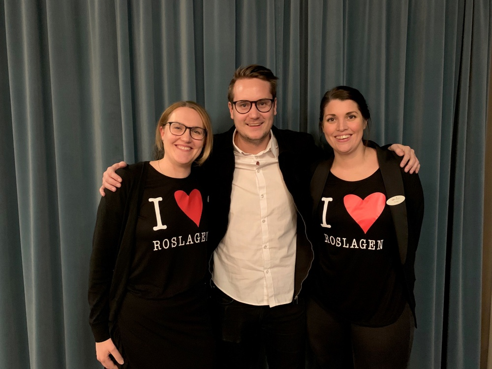 Malin Hellkvist, Jakob Vastamäki, Therese Carlström