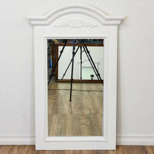 """""""Broyhill"""" White Cottage Chic Mirror"""