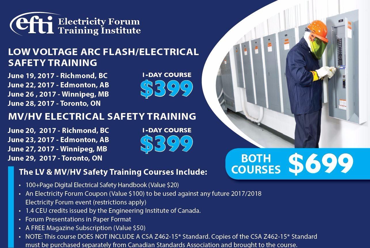 High Voltage Safety Training : Lv hv arc flash electrical safety training