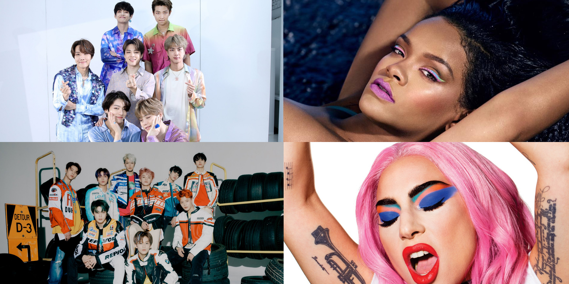 8 beauty collections by musicians: Rihanna, Lady Gaga, BTS, NCT 127, and more