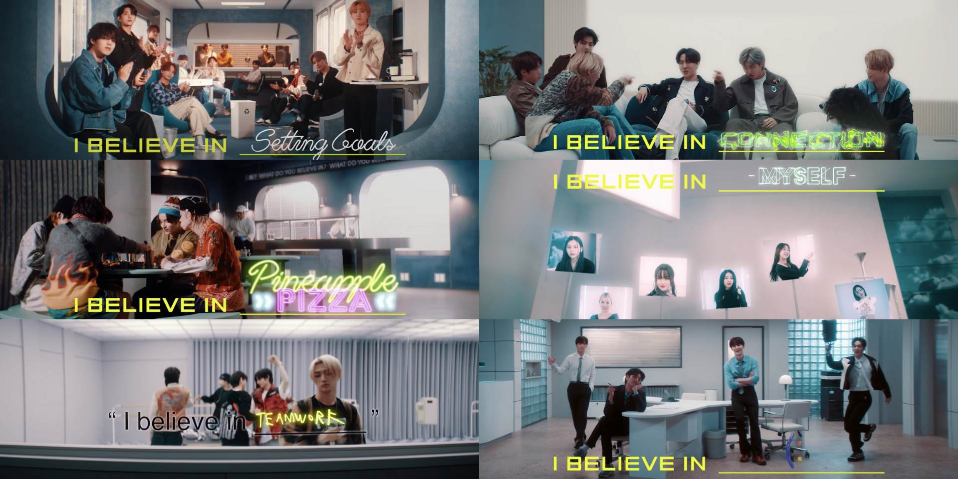 Big Hit Label artists ask 'WHAT DO YOU BELIEVE IN?' in new campaign film starring BTS, SEVENTEEN, GFRIEND, TXT, NU'EST, and ENHYPEN