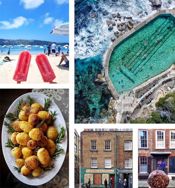 A selection of images from Clerkenwell Boy's Instagram
