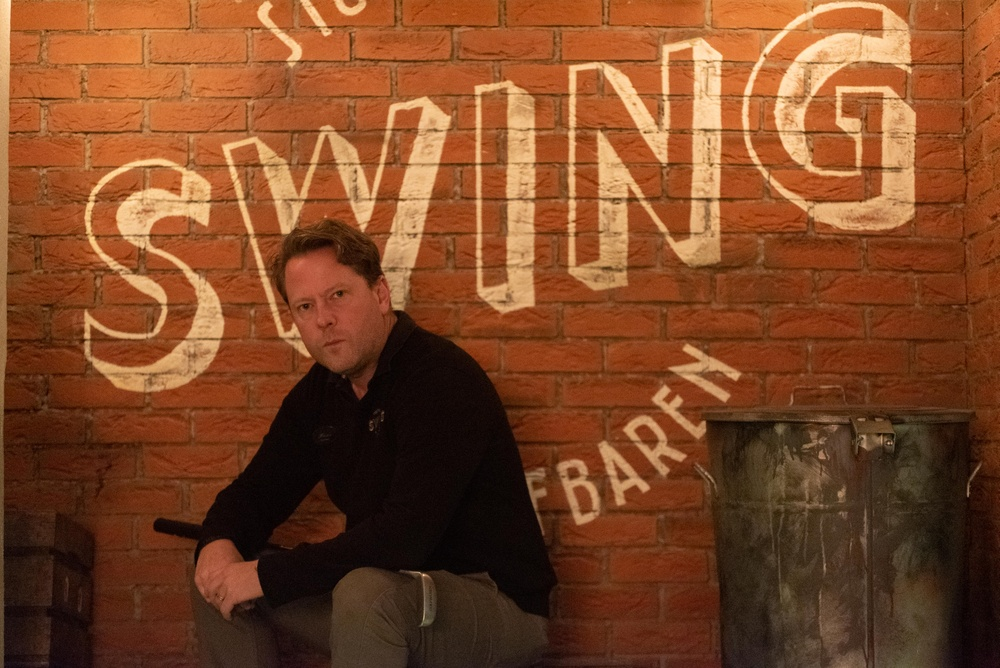 Hans Olofsson, founder Swing by Golfbaren and two time World Champion in Minigolf