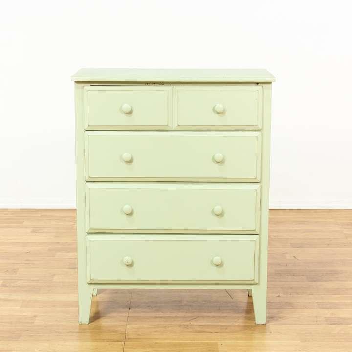 light blue shabby chic 6 drawer dresser loveseat vintage furniture san diego los angeles. Black Bedroom Furniture Sets. Home Design Ideas