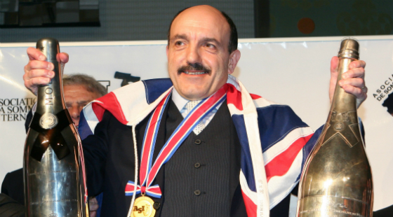 Gerard Basset is named the World's Best Sommelier in 2010