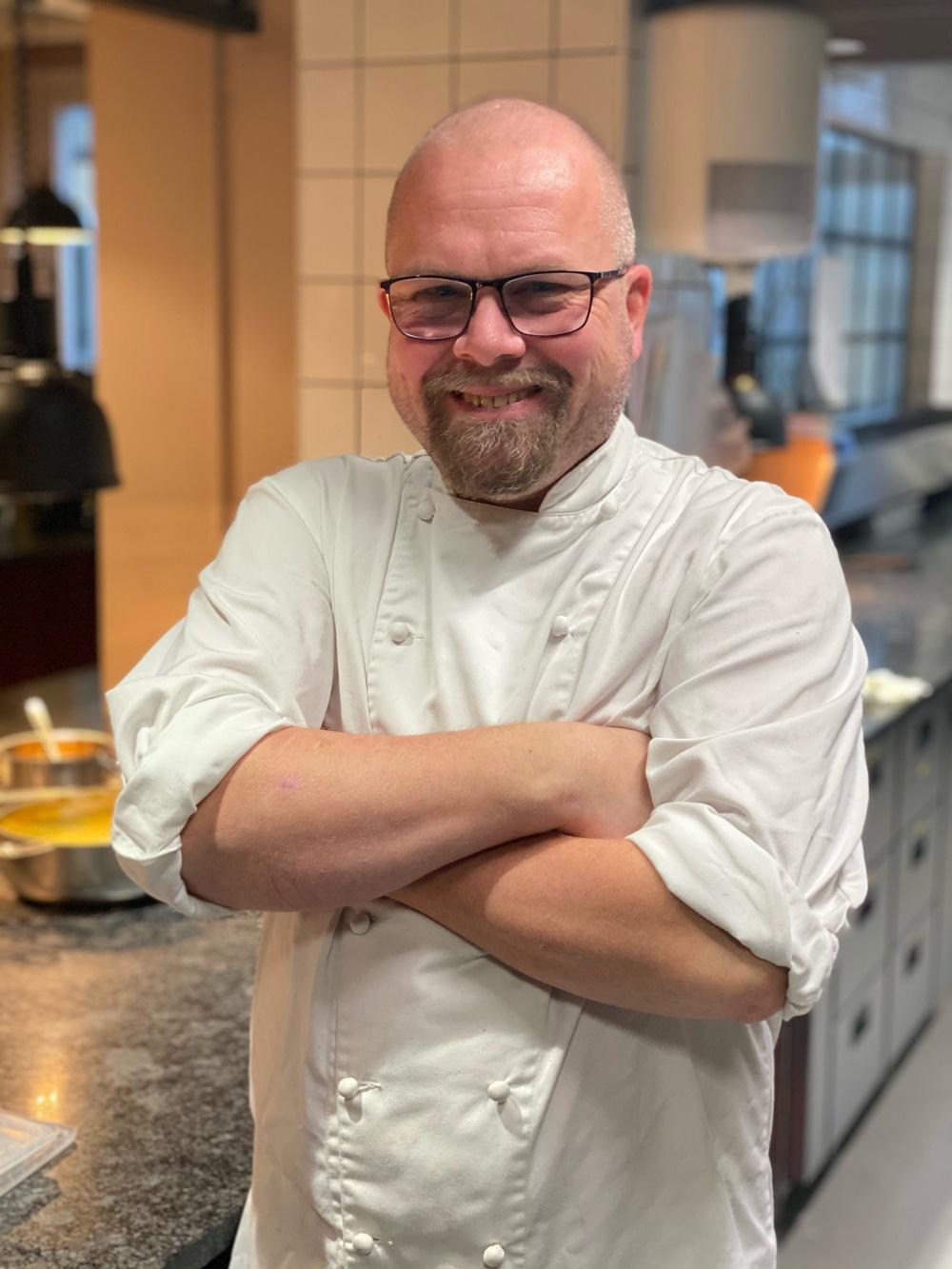 Joakim Broström tar över som köksmästare på Hotel Giòs restaurang Mama Giò.