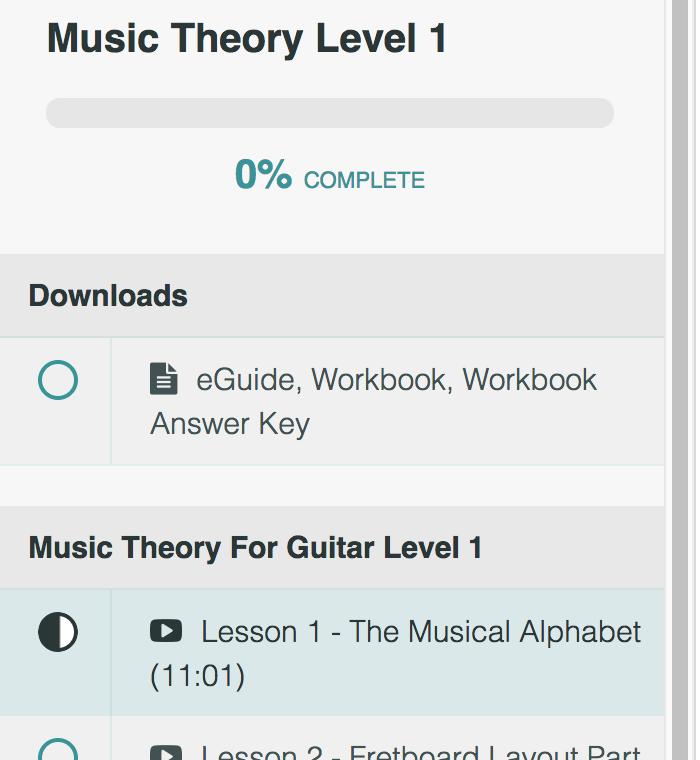 Lesson 1 - The Musical Alphabet | Move Forward Guitar