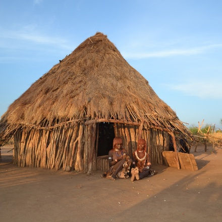 Travel to Omo Valley Tribes