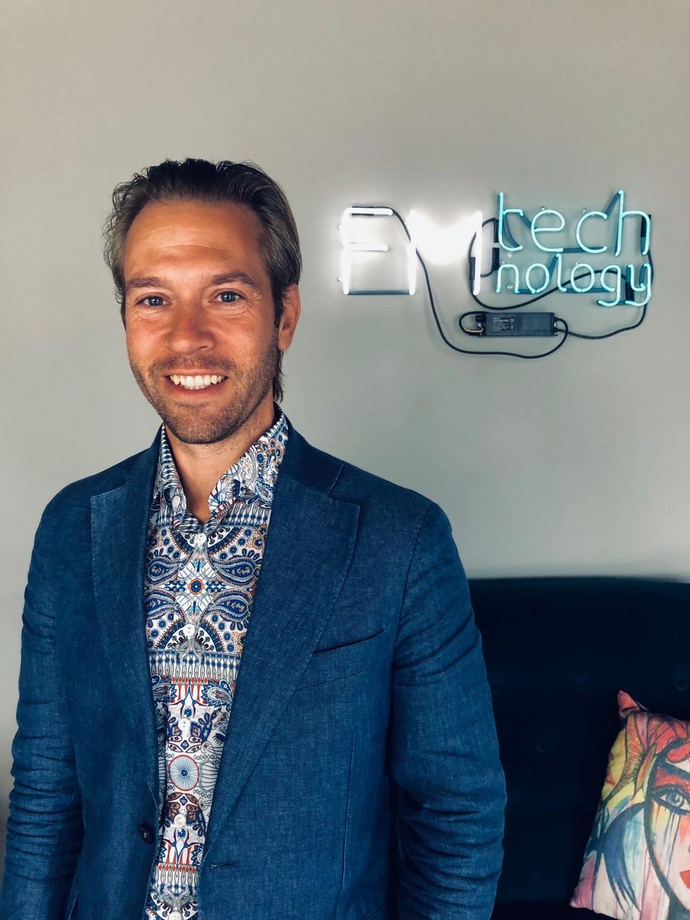 Henric Fransson, vd FM Technology