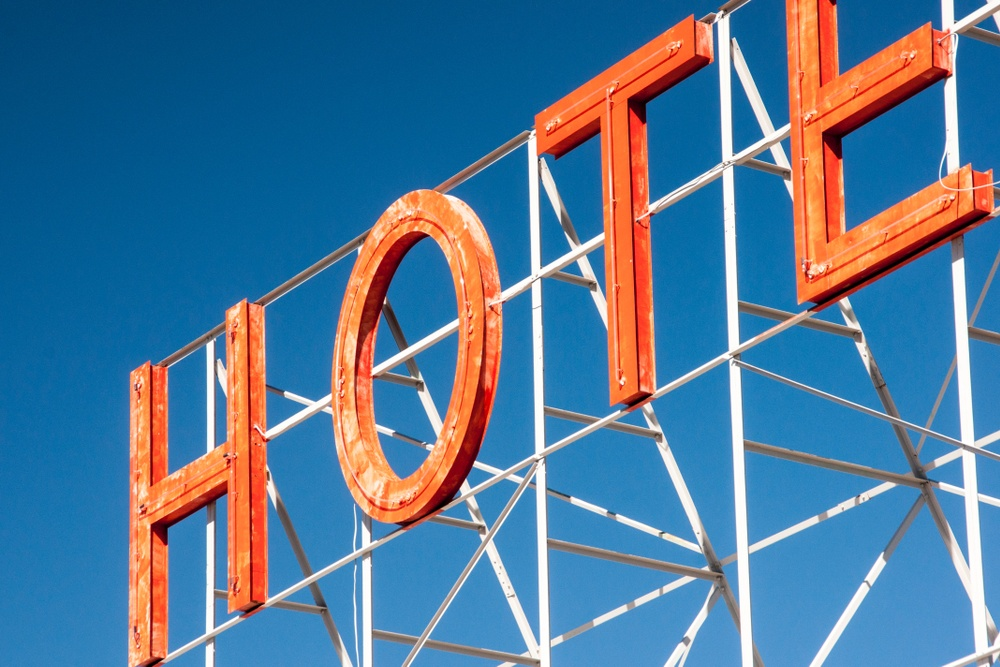 Hotel sign www.pexel.com