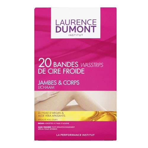 Bandes strips de cire froide jambes et corps - Perfect peel system