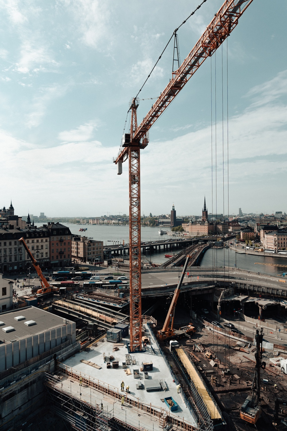 Construction site, Slussen