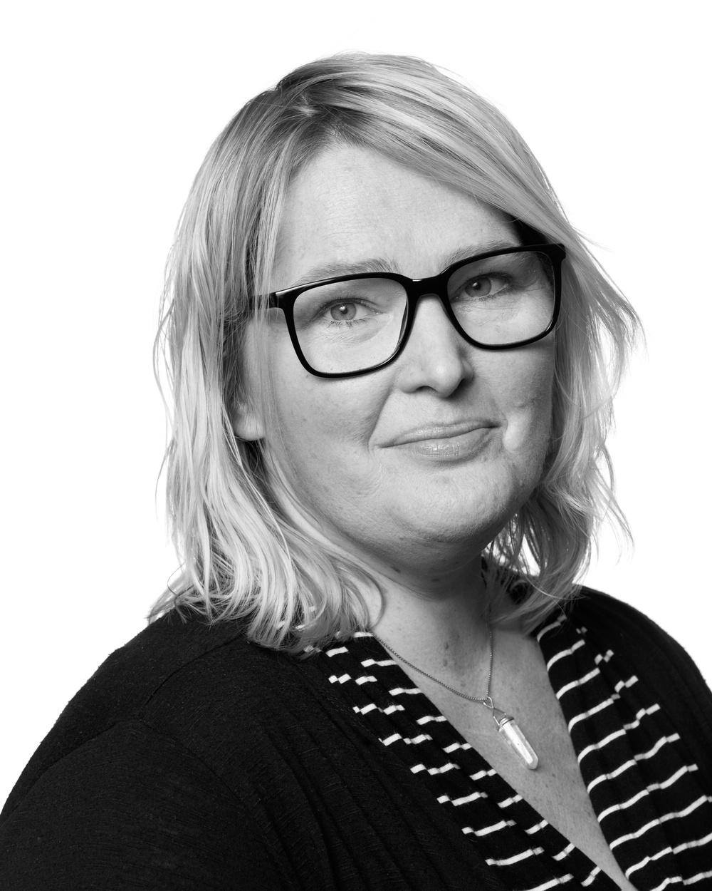 Lillemor Skogheden, berättarkonsulent, Nordiskt Berättarcentrum. Foto: Patrick Degerman.