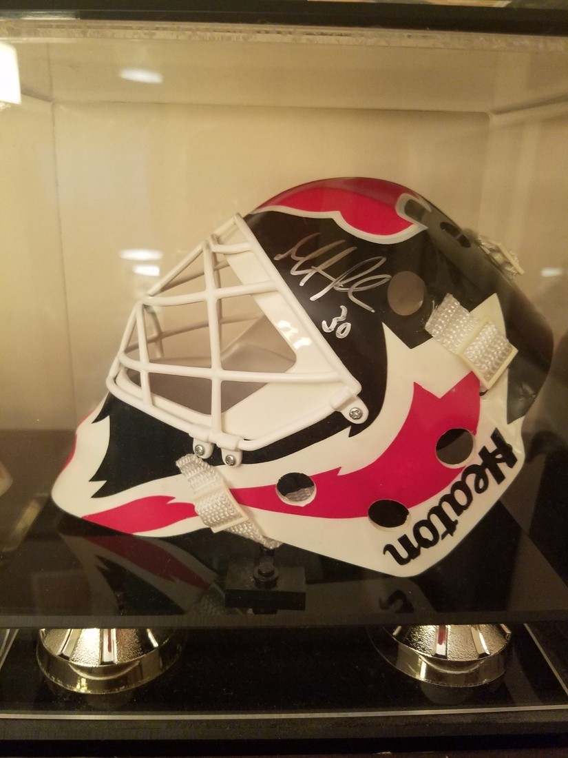 Martin Brodeur Mini Mask Collectionzz