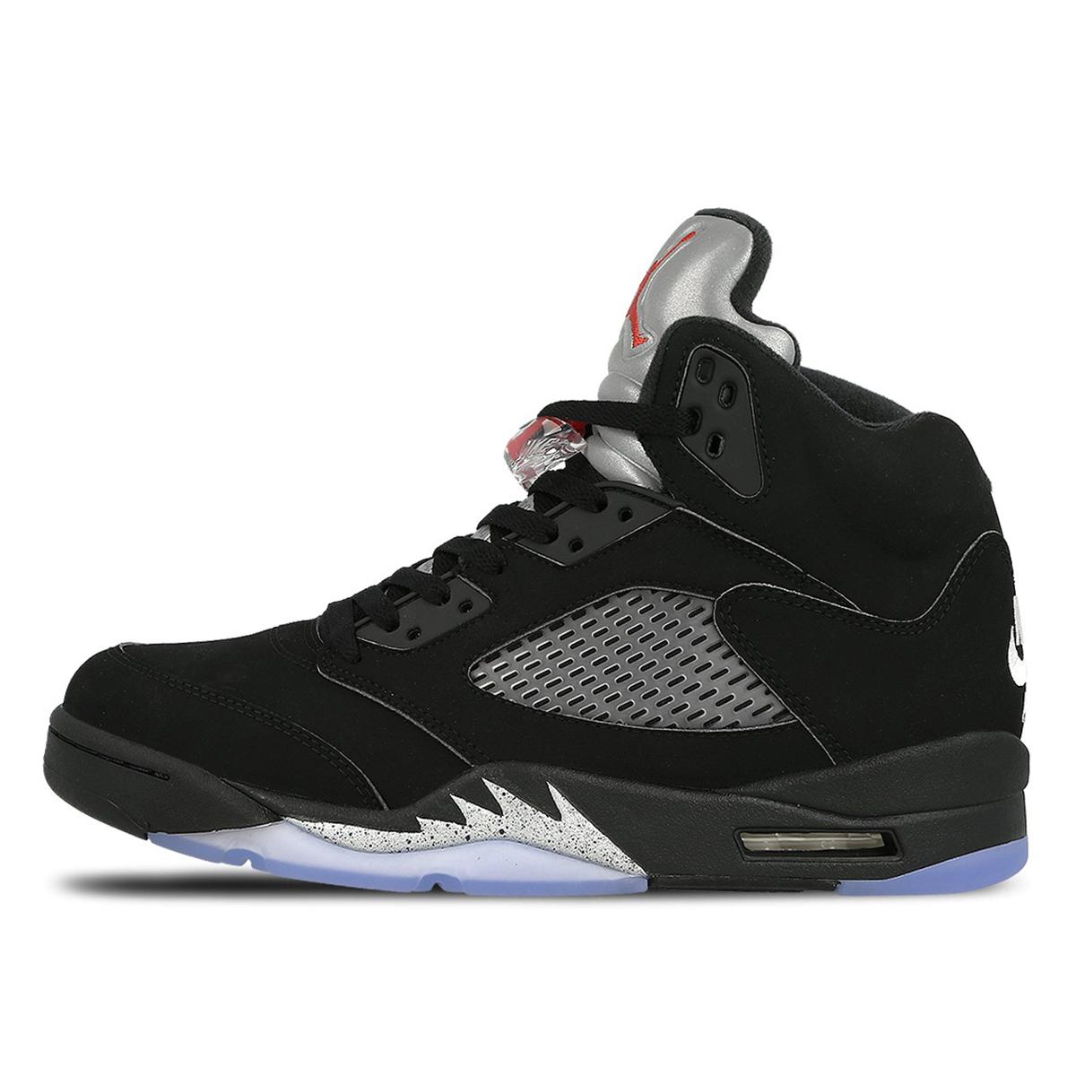 Air Jordan Nike AJ 5 V Retro Black Metallic (2016)