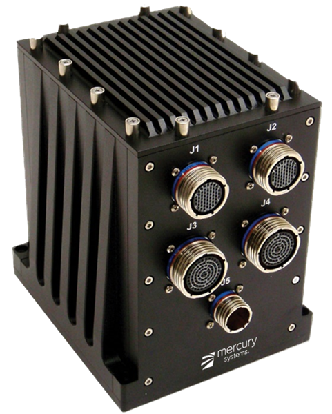 Mercury Systems' MPS1202 Electromagnetic Spectrum Processing Subsystem
