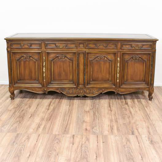 """Karges"" French Provincial Sideboard Buffet"