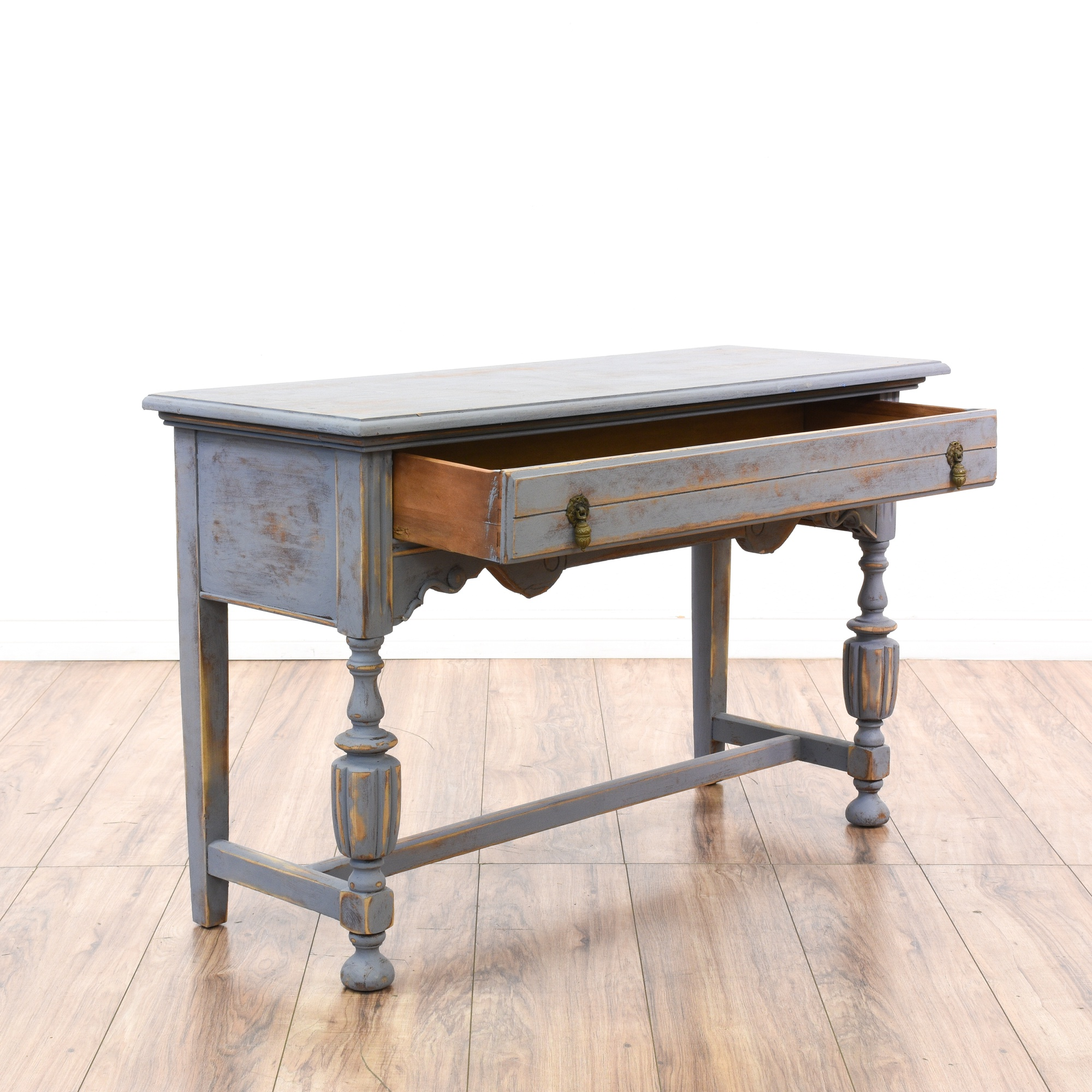 Shabby chic 1930 s spanish revival console table loveseat vintage furniture san diego amp los