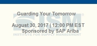Learn how SAP Ariba is helping protect your source to pay process from potential disruption