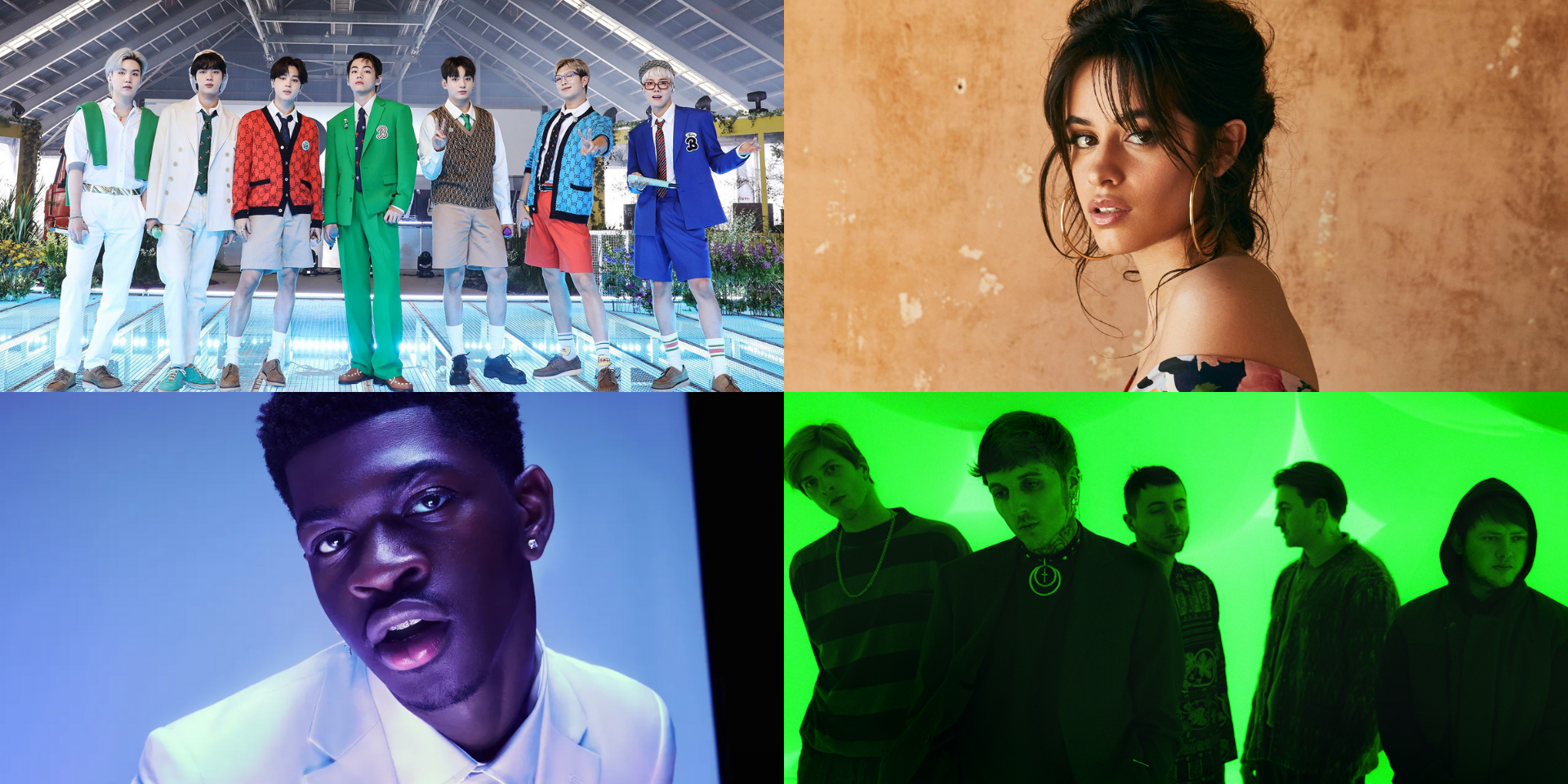 BBC Radio 1 Live Lounge to air 'Butter' performance by BTS, plus sets by Lil Nas X, Camila Cabello, Bring Me The Horizon, and more this September