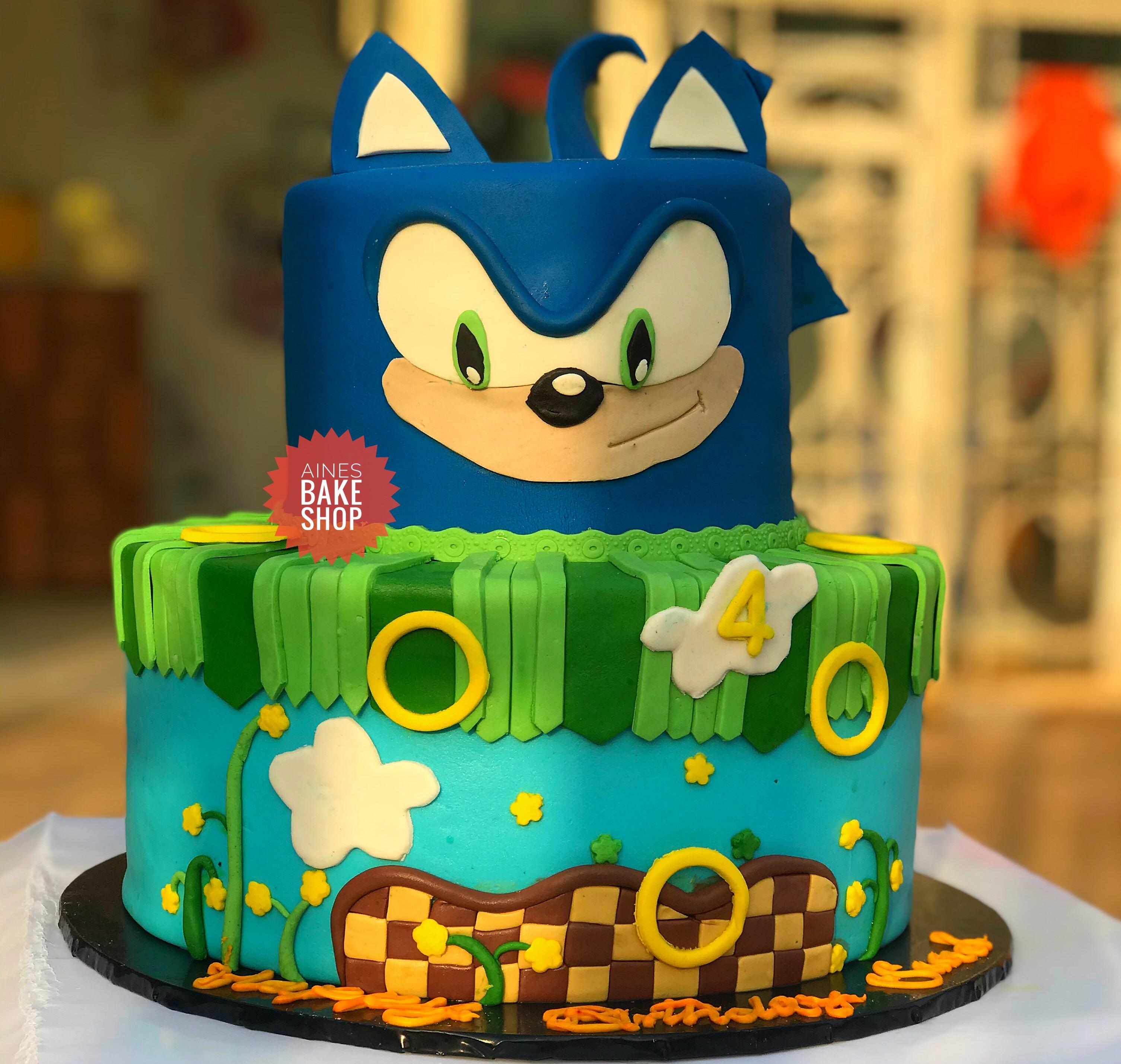 étonnant  Mot-Clé sonic the hedgehog cake   Aine's bake shop   Flutterwave Store