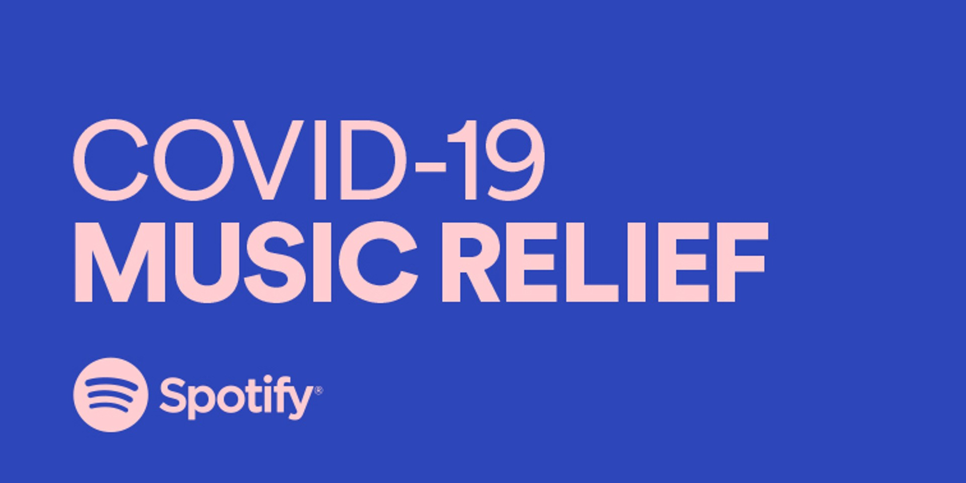 Spotify rolls out initiatives to support the music community in COVID-19 crisis