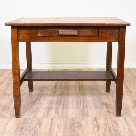 Rustic Country Chic Desk Console Table