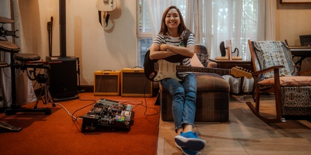 Barbie Almalbis talks new EP Tigre, getting over creative dry spells, and keeping music in the family – cover story